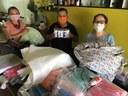 AÇÃO SOCIAL – Servidores do Campus Boa Vista doam material para confecção de máscaras caseiras