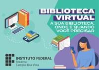 Campus Boa Vista contará com biblioteca virtual