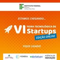 Edição 2020 da Feira Startup do IFRR ocorrerá em formato digital e on-line