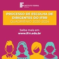 ESCOLHA DE DIRIGENTES – Quatro candidatos concorrem ao cargo de diretor-geral do Campus Boa Vista