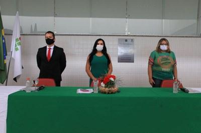 Cerimônia de posse teve público restrito e cumpriu protocolos de distanciamento social