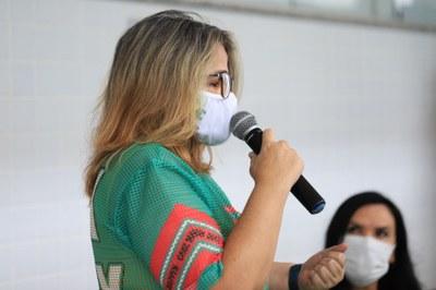 A frente do CBVZO desde 2012, professora Aparecida Medeiros falou de seu sentimento pela instituição