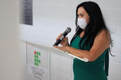 Reitora Nilra Jane Filgueira fala dos desafios impostos ao CBVZO