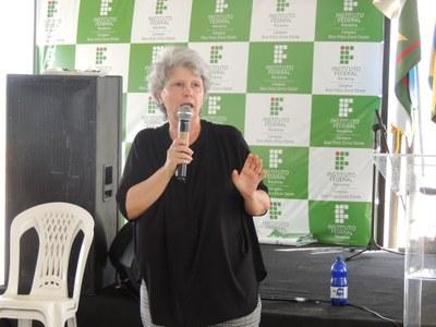 Professora convidada Denise Machado Duran Gutierrez, do Instituto Nacional de Pesquisas da Amazônia (Inpa)