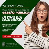 Campus Boa Vista Zona Oeste do IFRR encerra inscrições do vestibular nesta quinta-feira, 29