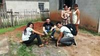 IF COMUNIDADE – Moradores do Conjunto Cidadão recebem ações ambientais de alunos do CBVZO