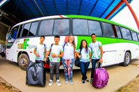 JOGOS INTERCAMPI - Equipe do Campus Boa Vista Zona Oeste parte confiante para o Amajari