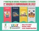 Mostra apresentará ações do CBVZO e 2ª edição do IF Comunidade atenderá população