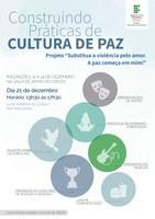Projeto para cultura de paz vai premiar desenhos e redações