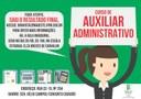 Sai resultado do seletivo para capacitação em Auxiliar Administrativo no CBVZO