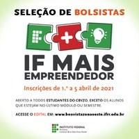 PANDEMIA  – CBVZO abre seleção para estudantes participarem de projetos de apoio a micro e pequenos empreendedores