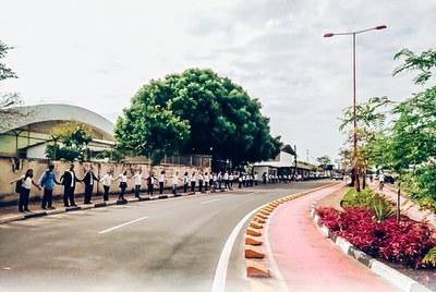 Campus Boa Vista realizou a ação  pela manhã