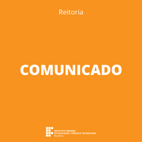 COMUNICADO – Suspensão do expediente da Reitoria