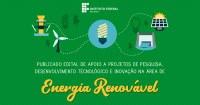 Divulgado resultado final da seleção de projetos para o programa Energia Renovável