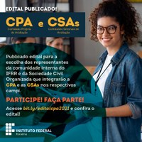 Lançado edital para escolha de novos membros das comissões de avaliação institucional