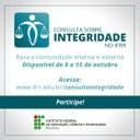 Aberta consulta sobre a integridade no IFRR