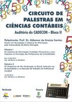 CIÊNCIAS CONTÁBEIS - Parceria promove evento sobre formação profissional