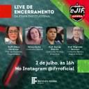 eJIF – Ganhadores serão anunciados na live de encerramento da etapa institucional