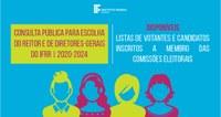 ESCOLHA DE DIRIGENTES – Disponíveis listas de votantes e candidatos inscritos a membro das comissões eleitorais