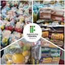 Mais de 800 estudantes do IFRR em vulnerabilidade social são contemplados com kits de alimentos