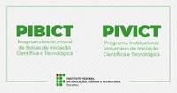 PIBICT/PIVICT – Resultado final para vagas remanescentes já pode ser consultado