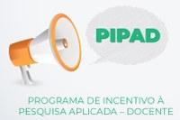 PIPAD – Edital de pesquisa aplicada é retificado